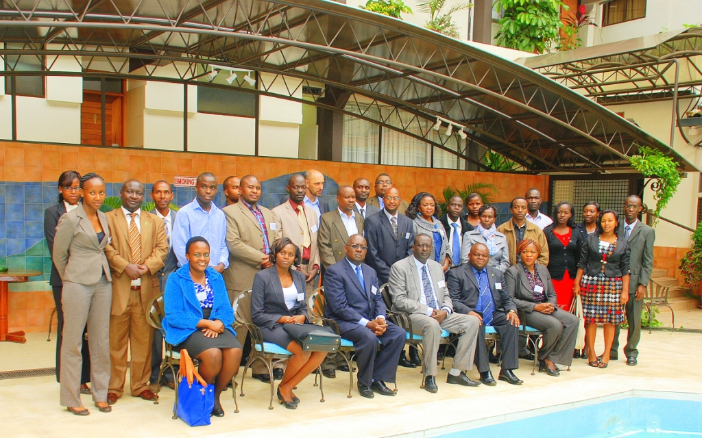 Seated fourth from left PS Dr. Lesiyampe and other Workshop participants